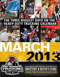 2013 mid america trucking show directory u0026 buyer u0027s guide by mid