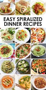 new year dinner recipe easy spiralized dinner recipes fit foodie finds
