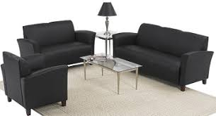 Black Living Room Chairs Commercial Sofa Can Add Comfort To Your Office