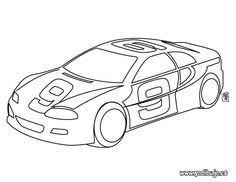 auto coloring scuderia ferrari car colouring pages supercar
