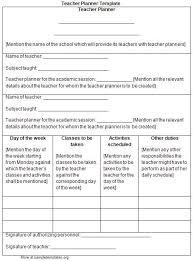 26 images of teacher agenda template infovia net