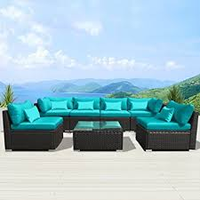 Outdoor Patio Furniture Sectional Modenzi 7g U Outdoor Sectional Patio Furniture