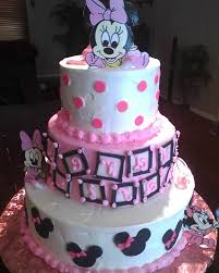 minnie mouse baby grow cake baby shower cakes celebration baby