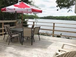 Cottage Rental Ottawa by Lac Gauvreau Cottage From Upper Deck Lac Gauvreau Cottage Rental