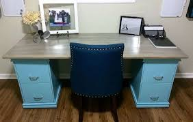 How To Paint A Filing Cabinet Diy Friday Build Your Own File Cabinet Desk Mcaleer U0027s Office