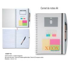 articles bureau articles de bureau bloc notes objets promotionnels aic créations