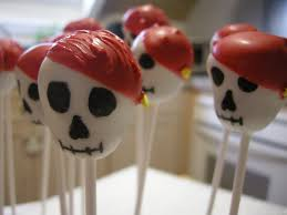 skull and pirate skull cake pops cake pop insanity