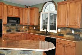pictures of kitchen backsplashes with granite countertops kitchen countertop and backsplash ideas granite and tile ideas
