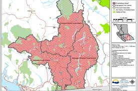 Wildfire Bc Map Interactive by Campfires Banned In Kamloops Fire Centre Salmon Arm Observer