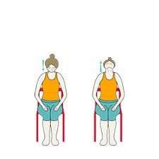 Armchair Yoga For Seniors Yoga Sequence For Seniors Restorative And Chair Poses Tummee Com