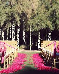 Wedding Aisle Ideas Pink Wedding Wedding Aisle Decor Ideas 804757 Weddbook