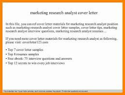 7 market analyst cover letter new hope stream wood