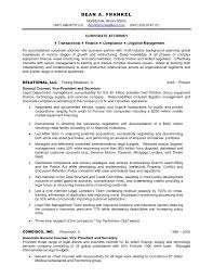 Sample Business Resume Sample Resume Sle Resume For Attorney On Inhouse