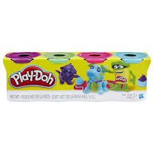 play doh 4 pack of bold colors play doh