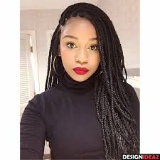 braided hair styles for a rounded face type 10 enticing black braided hairstyles for heart faces
