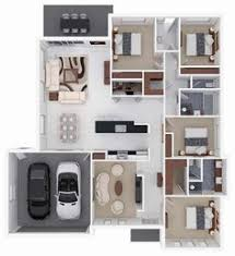 3 Bedroom Floor Plans With Garage 3 Bedroom With Parking Space Floor Plan Decoraciones Pinterest