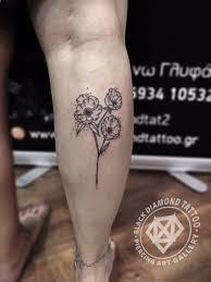 black diamond tattoo glyfada black diamond tattoo on twitter poppies minimal tattoo