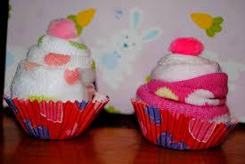 diy baby washcloth u0026 sock cupcakes youtube