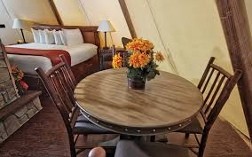 Teepee Dining Table Teepee Gling At Westgate River Ranch Resort Rodeo Insidehook