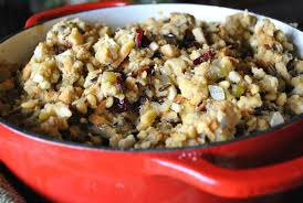 rice cranberry and pine nut vegan one green planet