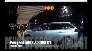 peugeot automobiles nouveau peugeot 5008 2016 et nouveau peugeot 3008 gt mondial de