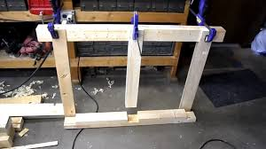 Plans To Make A Wooden Workbench by Building A Workbench From Pallet Wood Youtube