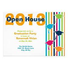 graduation open house invitation open house invitation wording ideas