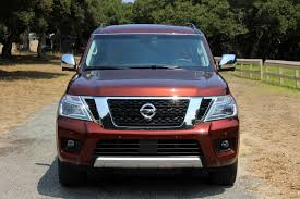 2017 nissan armada third row 2017 nissan armada review autoguide com news