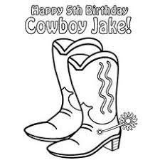 top free printabe cowboy coloring pages 21991 bestofcoloring com