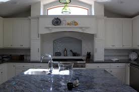 Kitchen Countertop Backsplash Blue Bahia Granite Kitchen Countertop Finished Installed Granix 2