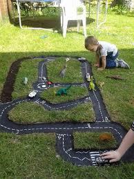 Backyard Fun Ideas For Kids Backyard Race Car Track An Easy Diy Tired Yards And Backyard