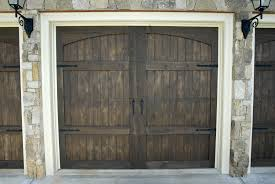 Carolina Overhead Doors by Real Wood Carriage House Garage Doors Buford Voyles Overhead Door