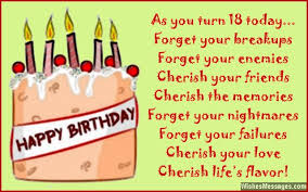 18th birthday quotes for your best friend friend poem th birthday