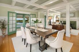Craftsman Style Dining Room Table Classic 1909 Craftsman Sits Over Portage Bay Curbed Seattle