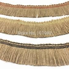 rustic ribbon 45mm 1m pc jute tassel burlap hessian ribbon trims rustic