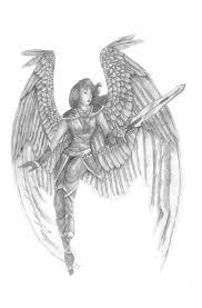 angel with sword tattoo design tattoos book 65 000