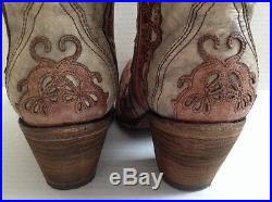 womens cowboy boots size 11 corral vintage brown lace s cowboy boots size
