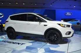 Ford Explorer Black Rims - refreshed 2017 ford escape is just what the customer ordered