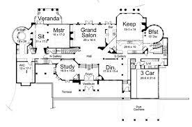 chateau floor plans european chateau style extravagance 12194jl architectural