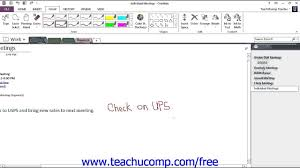 onenote 2013 tutorial converting handwriting to type microsoft