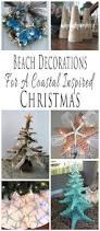 handmade beach themed christmas decorations for a coastal inspired