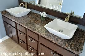 Masters Bathroom Vanity by Master Bath Reveal