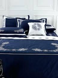 Navy Blue Bedding Set Blue Bed Set Elkar Club