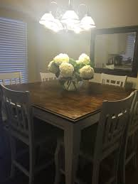 my project is complete refinished pub table was black before i