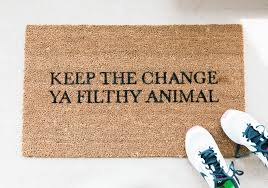 funny doormats popsugar home photo 1
