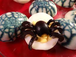 spider devilled eggs and spiderweb eggs with yoyomax12 youtube
