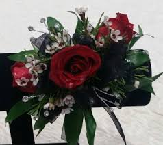 and black corsage and black corsage in navarre fl navarre flowers nursery