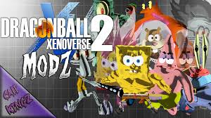 the spongebob squarepants pack xenoverse mods