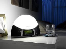 sad light alarm clock sad l lighting and ceiling fans