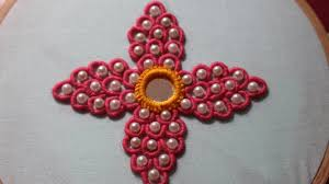 Free Kitchen Embroidery Designs Hand Embroidery Designs Bullion Knot Stitch Stitch And Flower